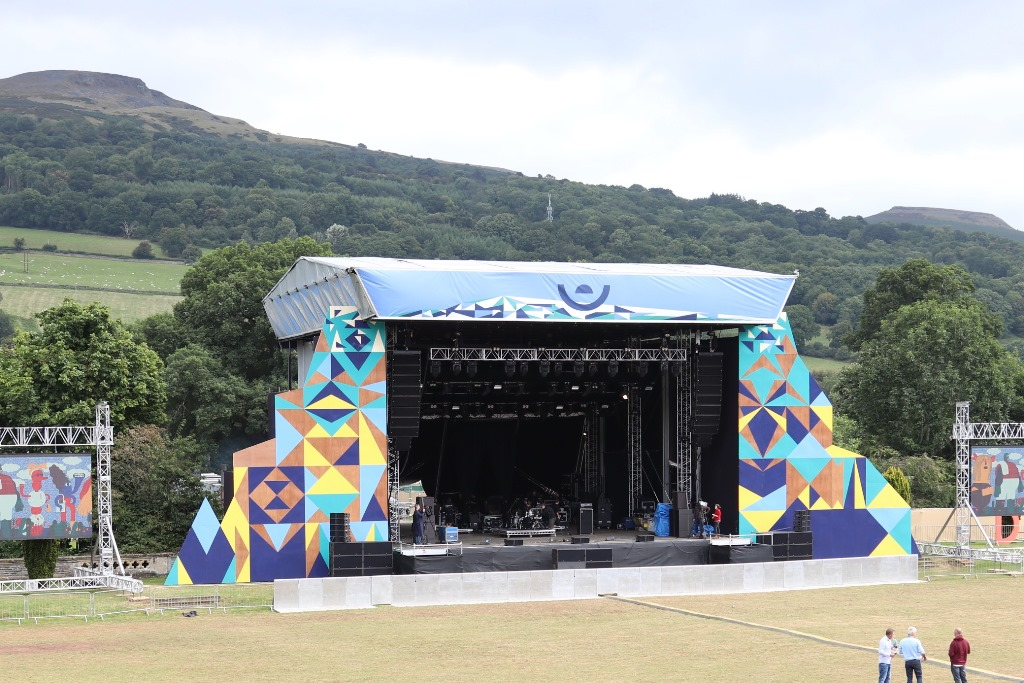 Greenman Music Festival – Great View From The Office!