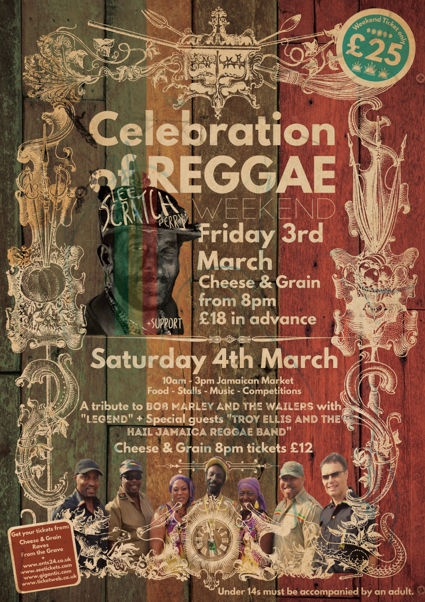AngelfishLIVE Launch 'A Celebration Of Reggae'